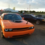 The 2014 Dodge Challenger Shaker at the Drag Strip