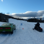 Drag Race: 2017 Dodge Challenger GT AWD vs. Ski-Doo!
