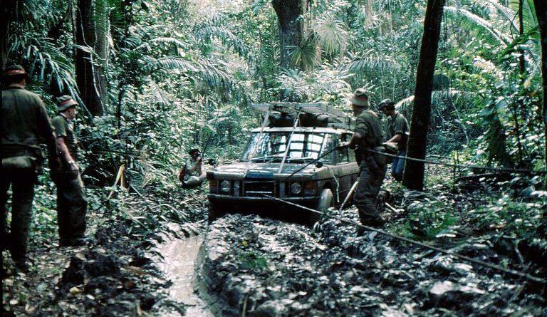 Darien Gap Land Rover