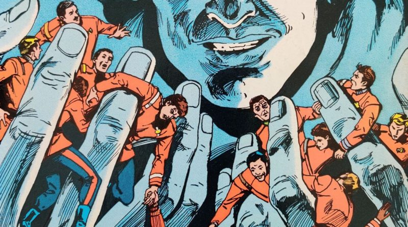 DC Comics Star Trek Issue 5 - Cropped Cover