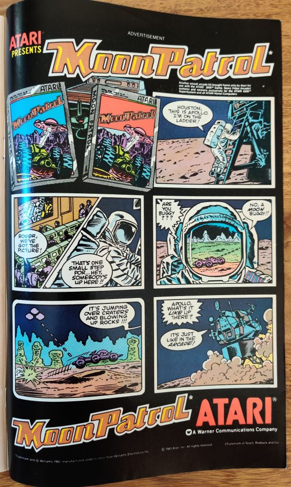 DC Comics Star Trek Issue 5 - Moon Patrol Ad