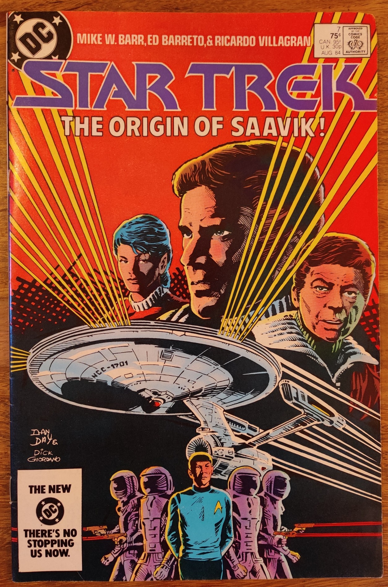 DC Comics Star Trek Issue 6 - Cover