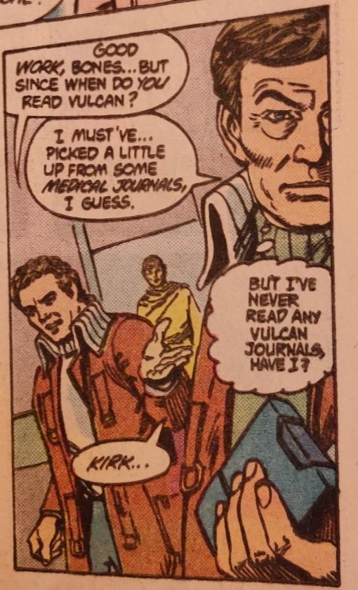 DC Comics Star Trek Issue 6 - Katra Klues