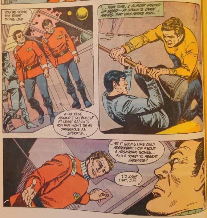 DC Comics Star Trek Issue 6 - Murder Memories
