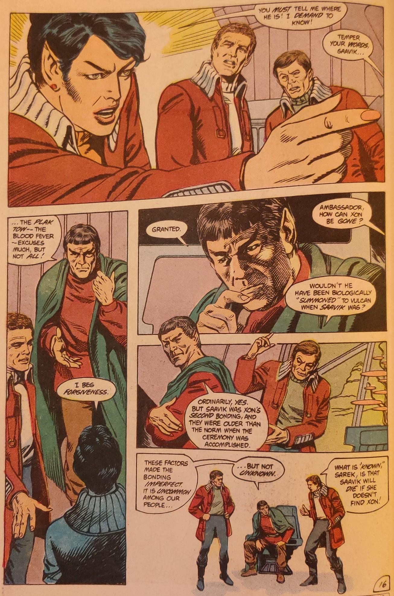 DC Comics Star Trek Issue 6 - Plak Tow Blues