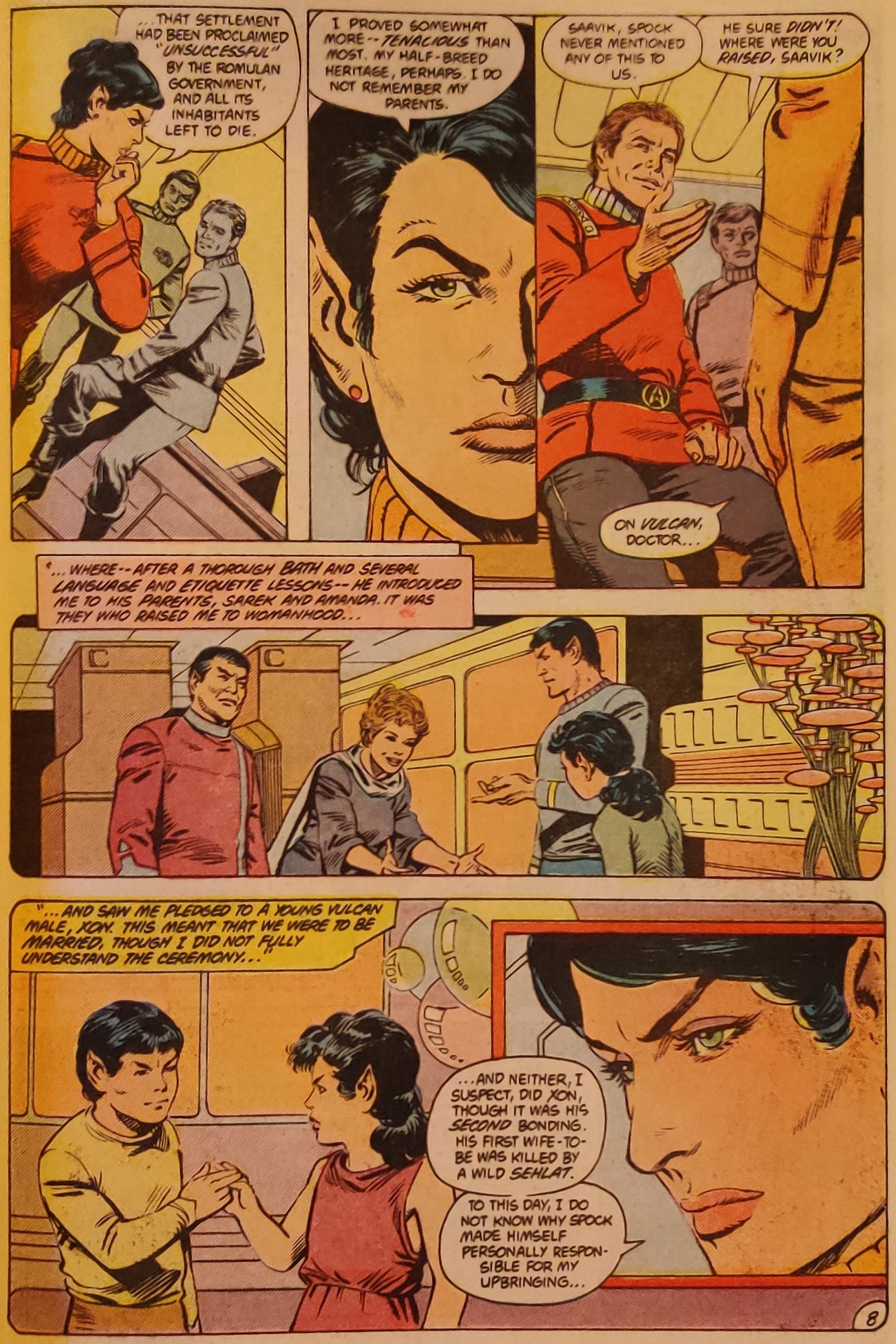 DC Comics Star Trek Issue 6 - Saavik's Origins