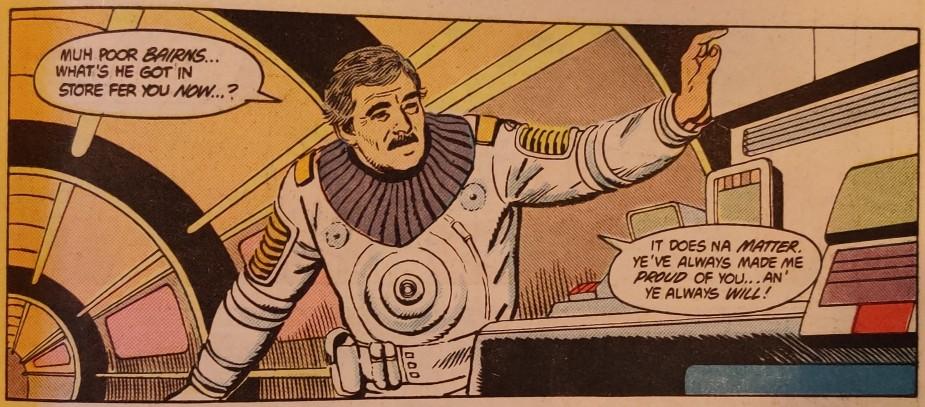 DC Comics Star Trek Issue 6 - Scotty Engine Pep Talk