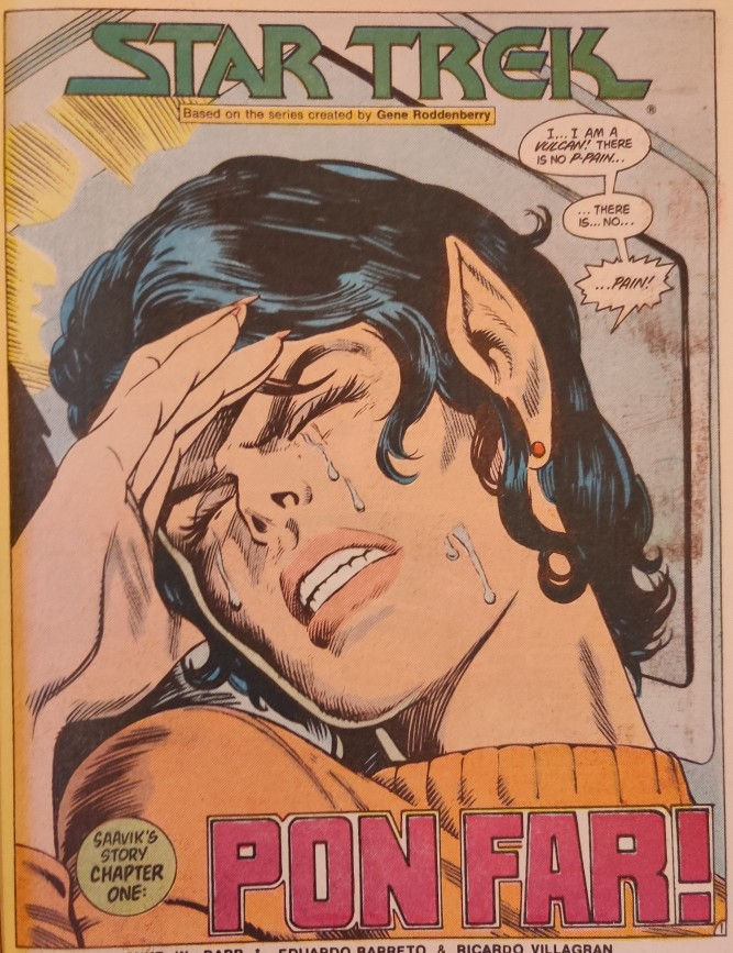 DC Comics Star Trek Issue 6 - Sweaty Pon Far