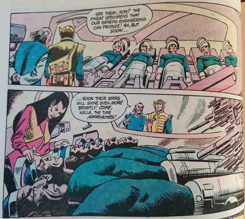 DC Comics Star Trek Issue 8 - Romulan Genetic Engineering