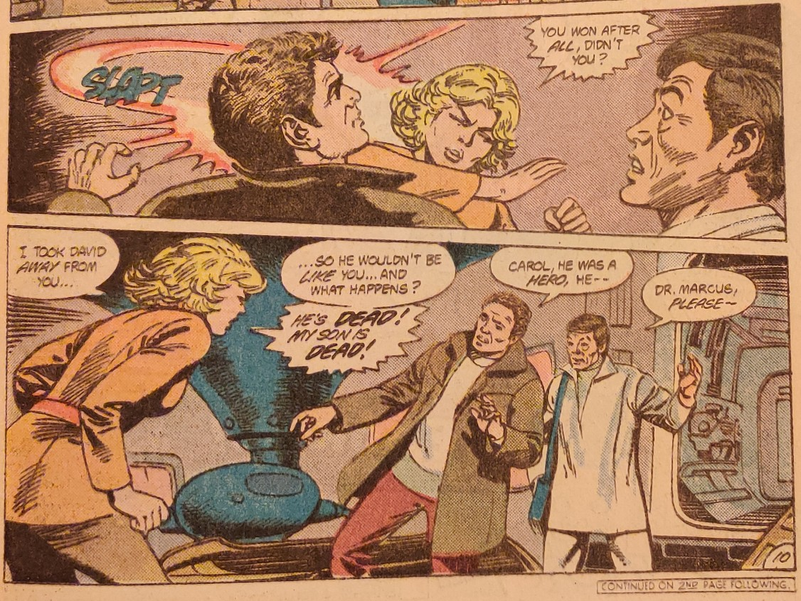DC Comics Star Trek Issue 9 - Carol Slaps Kirk