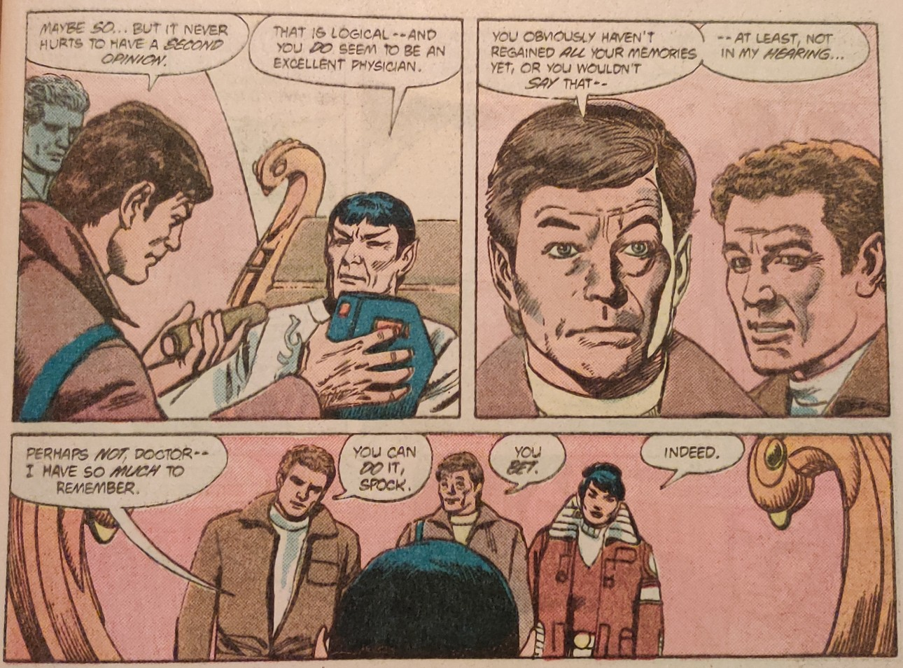 DC Comics Star Trek Issue 9 - Cheerleading Spock
