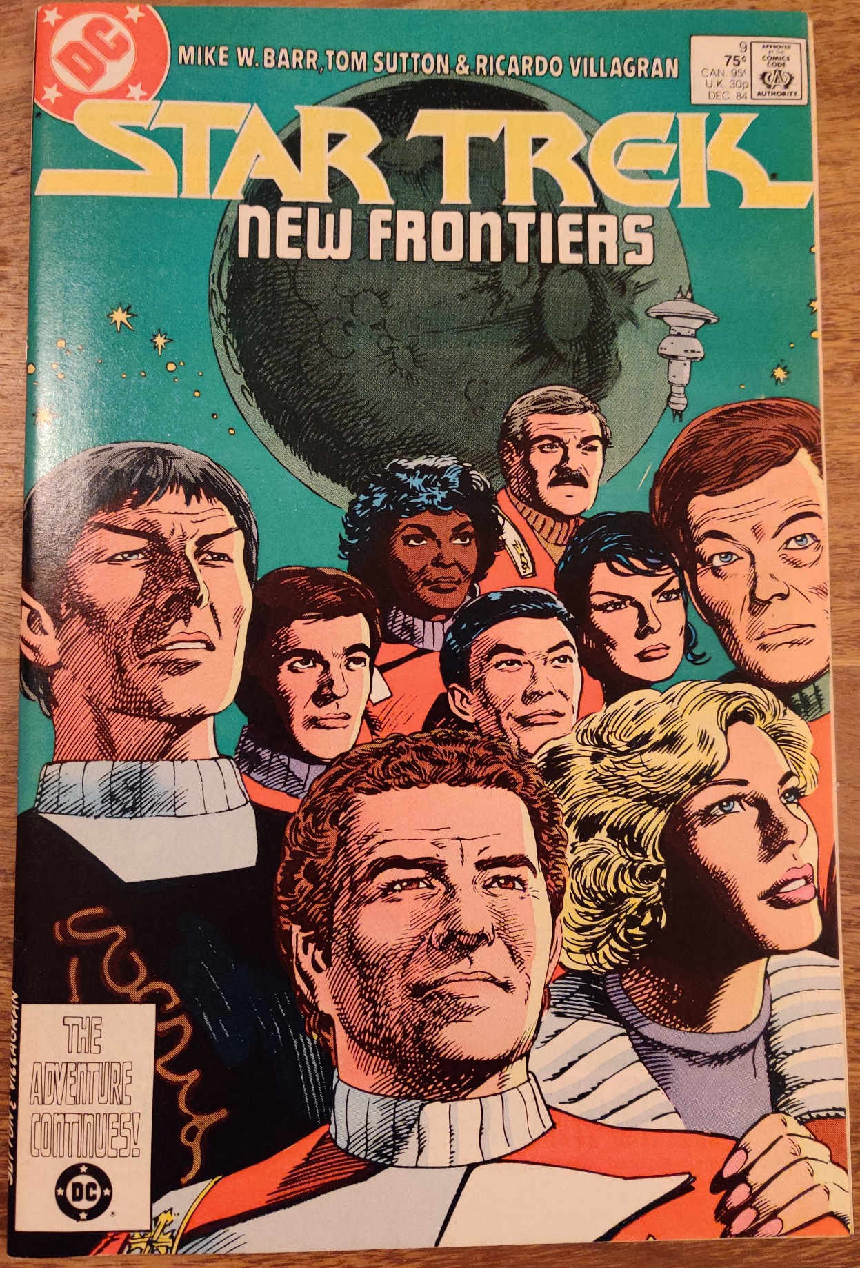 DC Comics Star Trek Issue 9 - Cover