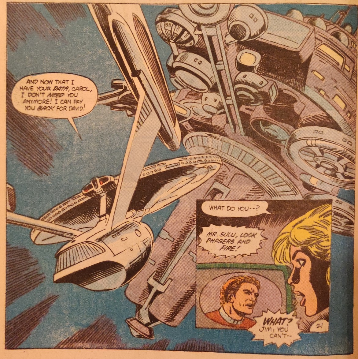 DC Comics Star Trek Issue 9 - He Most Certainly Can