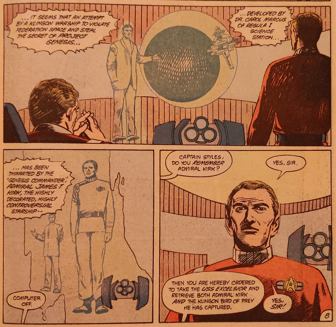 DC Comics Star Trek Issue 9 - Starfleet CNN