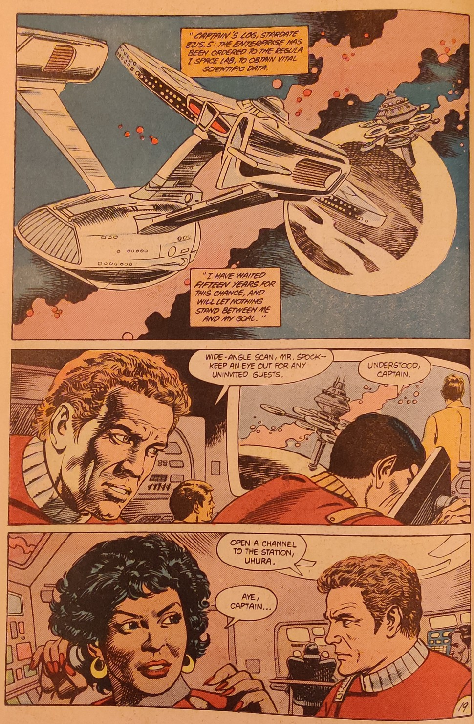 DC Comics Star Trek Issue 9 - Wait, What
