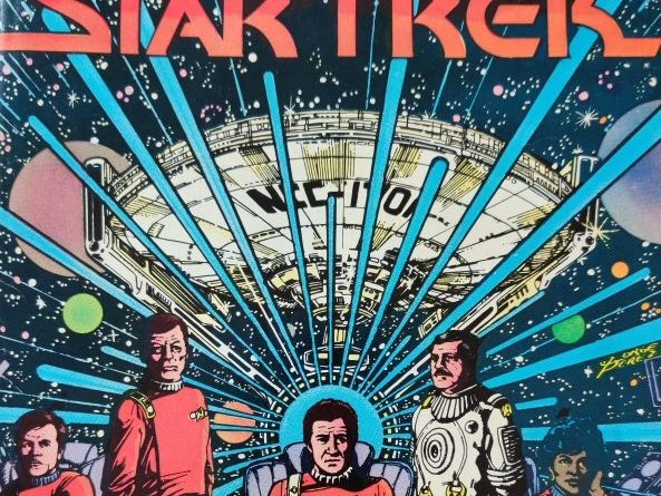 Star Trek DC Comics #1 Cover