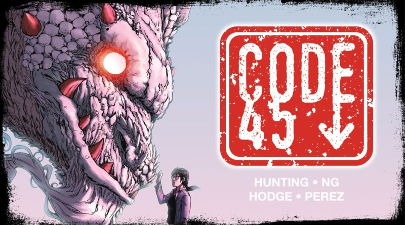 Code 45 Issue 2 Banner