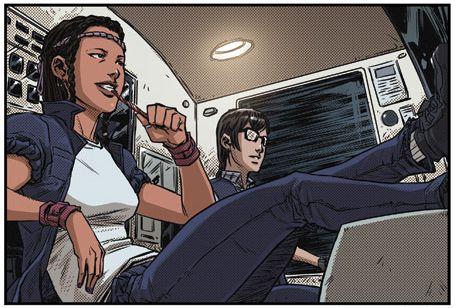 Nikki Code 45 graphic novel